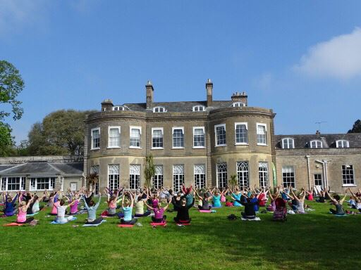 Park Yoga at Upton Country Park